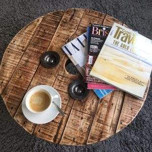 Coffee with Magazine - Comfort Health